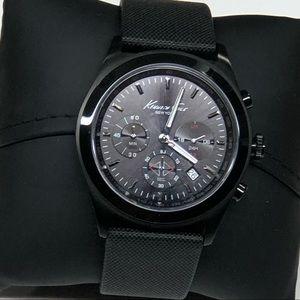 Men's Kenneth Cole New York Black Wrist Watch ⌚️